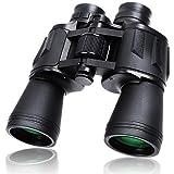 10X50 Binoculars Waterproof Binoculars Telescope for Adults with 26mm Large View Eyepiece Waterproof Binoculars for Bird Watching, Hunting, Outdoor Sports, Concerts with BAK4 FMC Lens