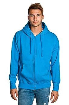 Mens Full Zip Training Hoodie Turquoise
