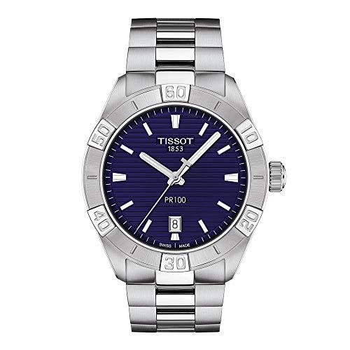 Tissot orologio uomo PR 100 Sport Gent 42mm quarzo Acciaio T101.610.11.041.00
