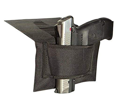 Don't Tread on Me Conceal and Carry Holsters DTOM's Famous Ain't-Goin'-Nowhere 3-Strip Bedside Holster (Ambidextrous - Low Visibility - BH1 w/ULTRAStick Technology)