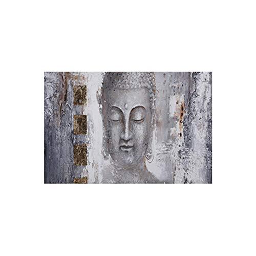 Wandkunst Buddha Großformat Poster Leinwand Kunst Abstrakte Kunst Malerei Für Wohnzimmer Wohnkultur Moderne Kunst Druck Gemälde 20x40 cm / 7,8
