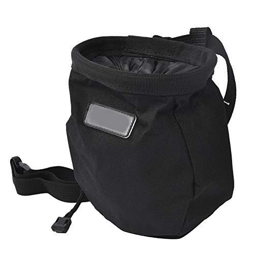Gatuxe mit Reißverschluss Magnesium-Tasche, Kletter-Magnesium-Pulver-Tasche, strapazierfähiges Oxford-Stoff mit großer Kapazität für Outdoor-Klettergymnastik