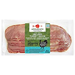 Applegate, Natural Uncured Turkey Bacon, 8oz