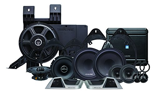 Alpine Electronics PSS-31GM 3-Way Sound System for 2014-Up Chevy Silverado, Set of 11