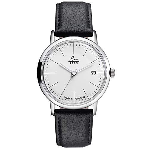 Laco Reloj automático vintage de alta calidad – 34 mm de diámetro – 861845 – Fabricado en Alemania – Calidad única – Acabado excepcional – Resistente al agua – desde 1925