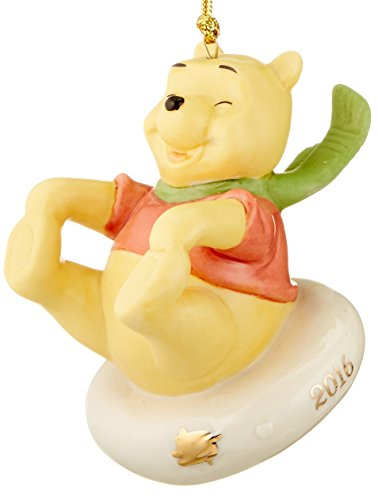 Lenox 2016 Sledding Fun with Pooh Ornament