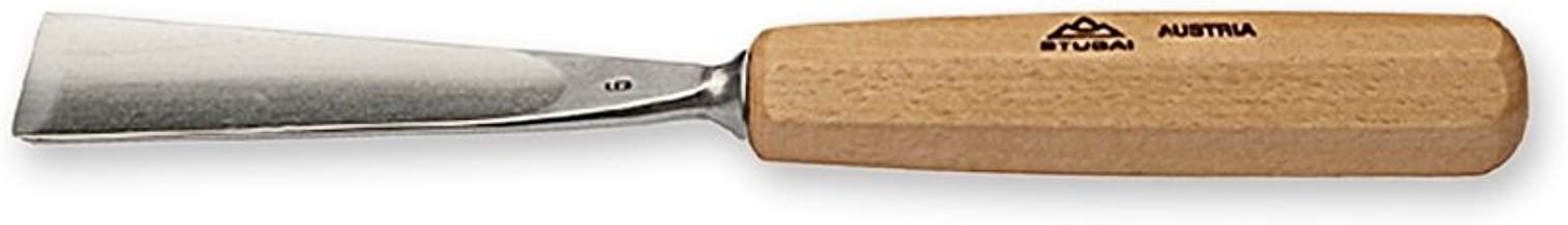 5,Lunga 2 mm Stubai 550502 Sgorbia c.Manico,affilata,MOD