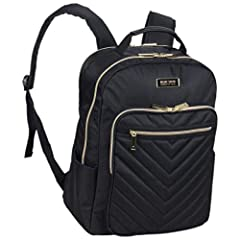 organized compartments: padded tech pocket fits most laptops with up to a 15 inch screen. Separate padded pocket is compatible with most tablets. Front exterior features a zipper pocket for easy access to frequently needed items and a zip around pock...