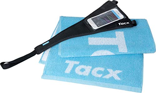Tacx Unisex-Adult Set (T2935) für Smartphone (Schweiß und Abdeckung), Schwarz, Einheitsgröße