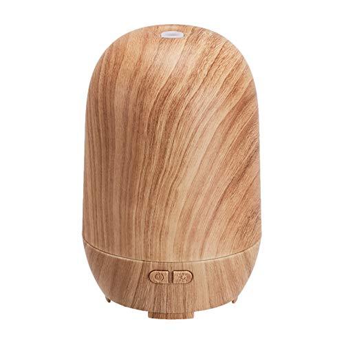 Amazon Basics – Ultraschall-Aromatherapie-Zerstäuber für ätherisches Öl, 100 ml, klassische Holzmaserung-Optik