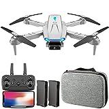Aumaya S89 RC Drone con fotocamera 4K Wifi FPV Doppia fotocamera Drone Mini Quadricottero pieghevole...