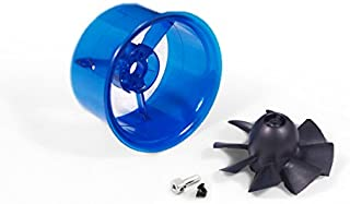 50mm EDF Accessory 8-Blade Fan Rotor;50mm PVC Blue platic Material Ducted Housing;Single Ducted Fan and Ducted housing for Sale Without Brushless Motor (ACDF008)
