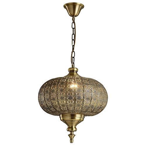 PHLPS Hierro tallado hueco de la lámpara del sudeste asiático estilo tailandés restaurante de la lámpara de techo colgante artístico moderno ligero del accesorio de iluminación, for Cafe Bar Comedor D