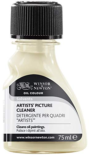 Winsor & Newton Aditivo para óleo limpiador de cuadros, 75ML