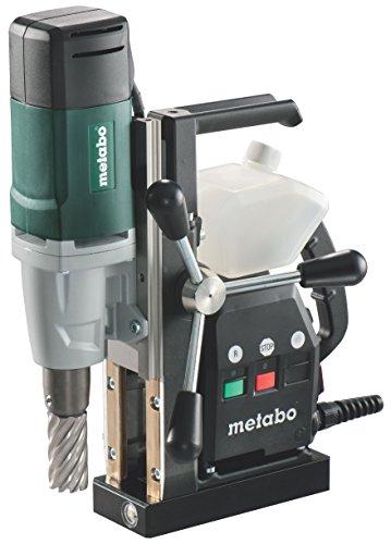 Metabo 600635500 600635500-Taladro magnético mag 32 1000W, 520 W, 1 V, Negro, Verde, Gris