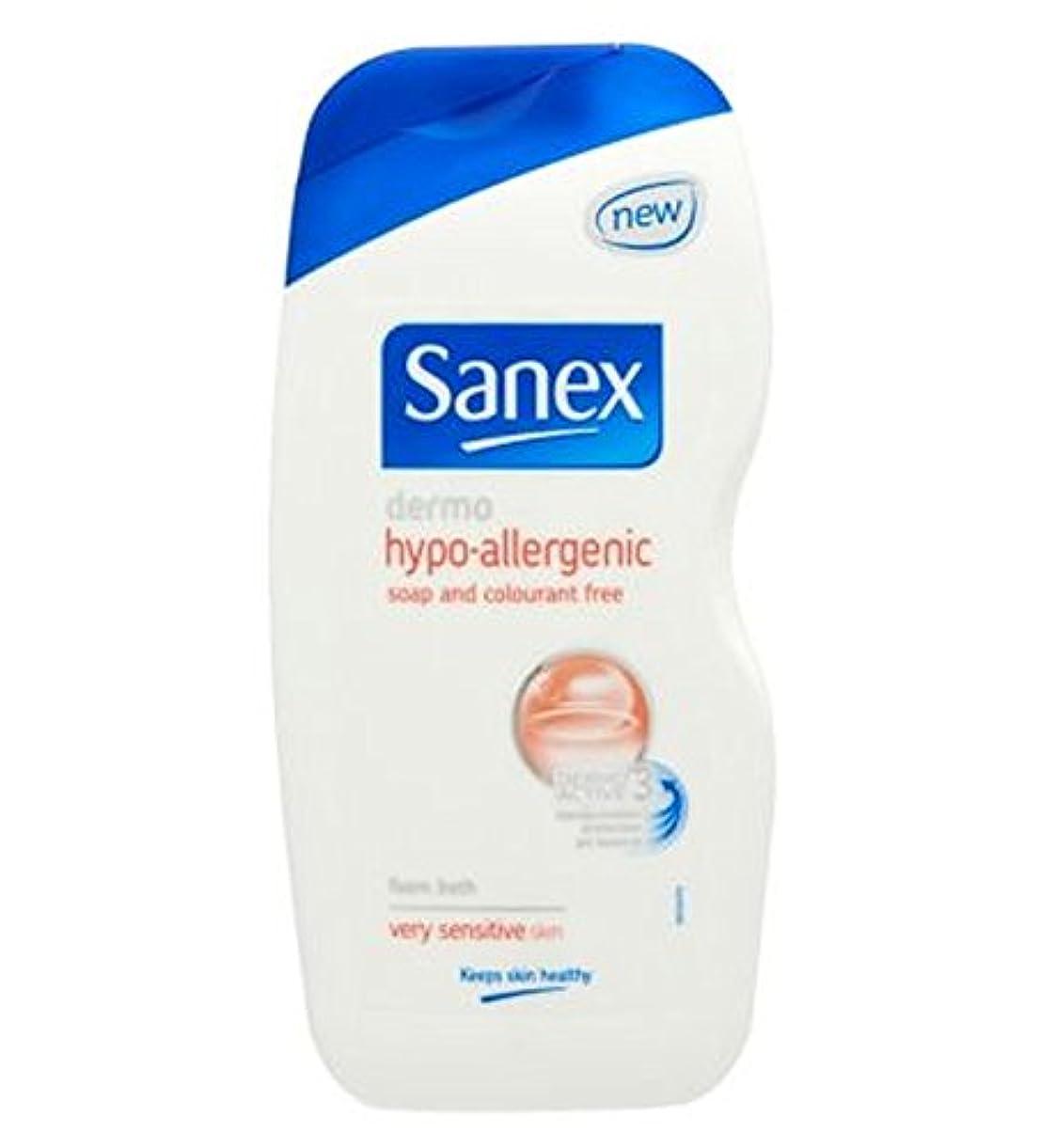 毎年フライカイト失敗Sanex真皮ハイポアレルギーの非常に敏感肌の泡風呂500ミリリットル (Sanex) (x2) - Sanex Dermo Hypo Allergenic Very Sensitive Skin Foam Bath 500ml (Pack of 2) [並行輸入品]