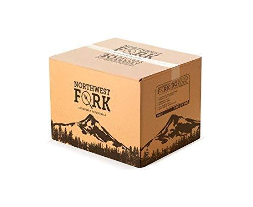 NorthWest Fork Gluten-Free 1 Year Emergency Food Supply (Kosher, Non-GMO, Vegan) - 10 Year Shelf Life - 12 x 90 Servings 4