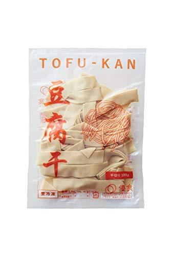 優食 豆腐干(とうふかん)[平切り]冷凍 [100g 12袋入り]