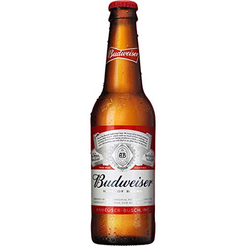 Budweiser botella 24x33cl (caja de 24 uds)