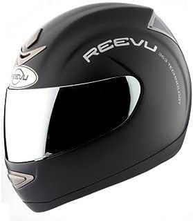Reevu MSX1 Rear-View Helmet - Large/Matte Black