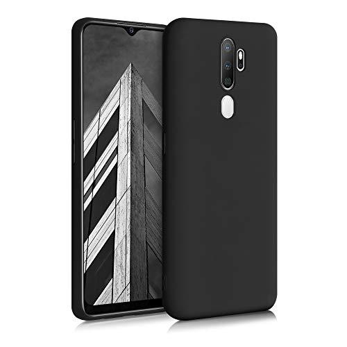 kwmobile Hülle kompatibel mit Oppo A5 (2020) - Hülle Handyhülle - Handy Hülle in Schwarz matt