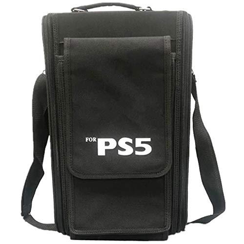 AXDNH Bolso Protector para el Hombro para la Caja de Almacenamiento de la Consola PS5 Caja de Transporte de Viaje para Playstation 5 Gampad Game Accesorio
