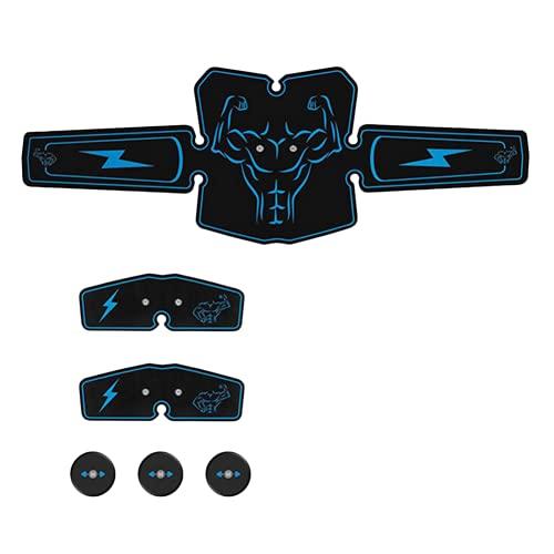 Shapewear Electroestimulador Muscular Abdominales USB Recargable Masajeador Eléctrico Cinturón del Abdomen/Brazo/Piernas/Cintura 6 Modos de Simulación,10 Niveles Diferentes