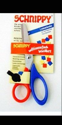 Tijeras tijeras de manualidades de zurdos, niños 2unidades)