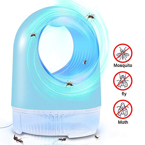 GLOUE Bug Zapper Inhaler,Mosquito Trap with Super Quiet Electronic Killing Mosquito, LED Light Inhaler Trap Lamp,USB Power Supply, Mosquito Killer Suitable for Indoor Residential & Office,Non-Toxic