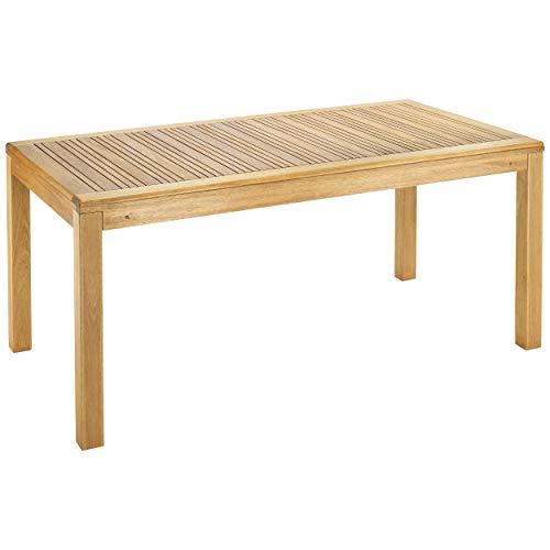 Gartentisch Chelsea Rechteckig 180 cm x 100 cm in Braun   Holztisch im ländlich-egnlischem Design