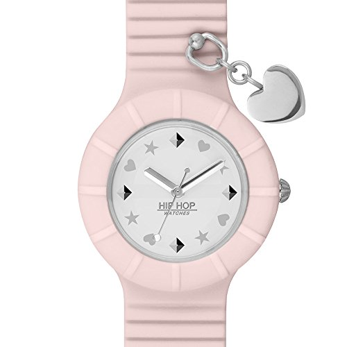 Orologio BREIL HIP HOP Piercing Heart Donna Solo Tempo Rosa - HWU0804