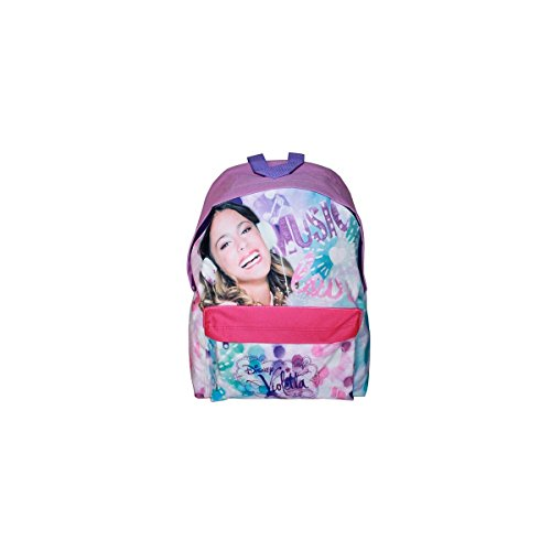 Disney Zaino Americano Violetta Music, Colore Rosa, Multicolore, 5411217272176