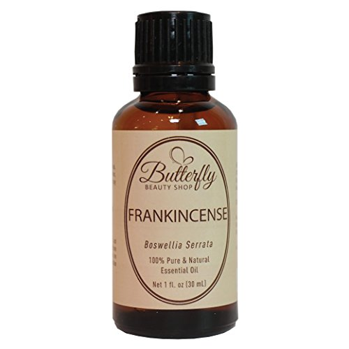 Frankincense Essential Oil (30mL/1oz). Steam Distilled from The Resin of The Indian Boswellia Tree. 100% Pure, Natural & Undiluted Boswellia Serrata.