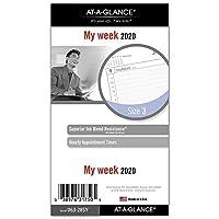 AT-A-GLANCE 2020 ウィークリープランナー リフィル