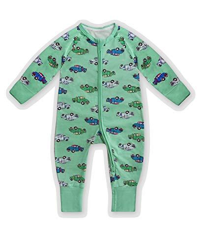 Dim 0A0I Pijama Largo para bebés y niños pequeños, Camion Vertec, 6 Meses