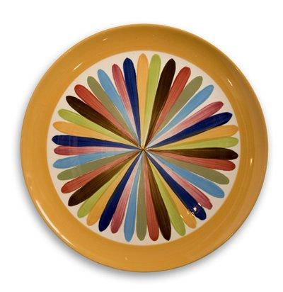 """Gail Pittman Tango 13"""" Round Serving Platter -  Gail Pittman Designs"""