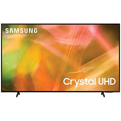 Samsung 125 cm (50 inches) 4K Ultra HD Smart LED TV UA50AU8000KLXL (Black) (2021 Model)