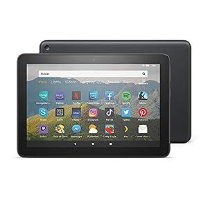 Tablet Fire HD 8, pantalla HD de 8 pulgadas, 64 GB (Negro) - Sin publicidad