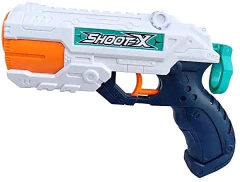 RACHANA Enterprise 2 in 1 Ball & Water Shooting Long Range Gun for Kids Toy 3 + Kids Multi Colour Gun