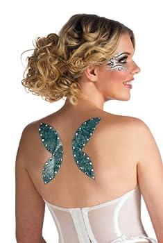 Rubies Fairy Wings Glitter Tattoo
