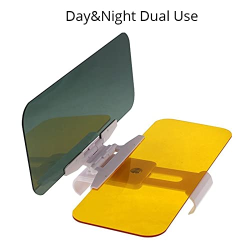 LOVELIN Lovelin17 Coche Sun Visor 2 en 1 Dazzling Goggle Day Night Vision Sun Anti-UV Block Visor Anti-Dazzle Sombrilla de conducción Mirror Vista Clara (Color : Day Night Dual Use)