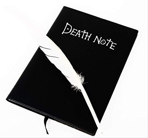 NC56 Todesnotiz Notebook Ryuuku Cosplay Spielzeug Deathnote Notebooks Mit Stift Sammlung Modell Spielzeug