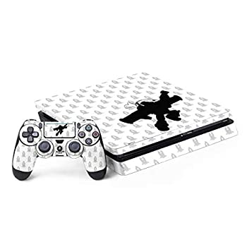 Skinit Decal Gaming Skin Compatible with PS4 Slim Bundle - Officially Licensed Disney Buzz Lightyear Silhouette Design