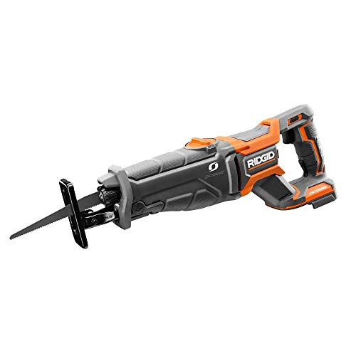 Ridgid 18-Volt OCTANE Lithium-Ion Cordless Brushless Reciprocating Saw, R8643B, (Tool-Only), (Bulk Packaged, Non-Retail Packaging)