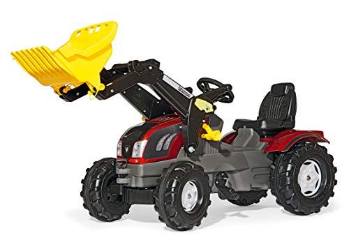 Rolly Toys Traktor / rollyFarmtrac Valtra (Kindertraktor mit verstellbarem Sitz, für Kinder von 3 – 8 Jahre) 611157