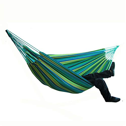 Acampar hamaca al aire libre cama colgante lienzo Mecedora no con el soporte 200 * 150cm,B