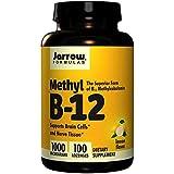 Jarrow Formulas メチルB-12 (ビタミンB12) レモン風味 1000mcg 100粒 [並行輸入品] -4 Packs j*vc