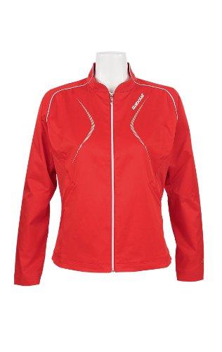 Babolat Damen Trainingsjacke Club Women, rot, S, 41F1225-104