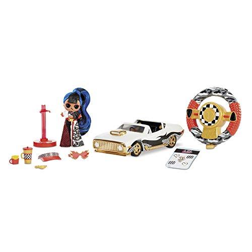 LOL Surprise RC Wheels Macchinina Telecomandata con Bambola in Edizione Limitata - Facile da Controllare, & Volante Funzionante