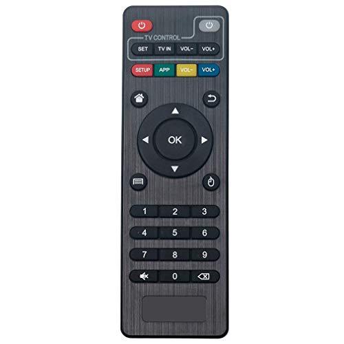 VINABTY Reemplazo del Control Remoto para MXQ Pro 4K Android STB TV M8 M8N M8S MX3 X96